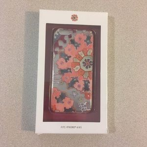 Anthropologie | Moroccan Coral Clear iPhone Case